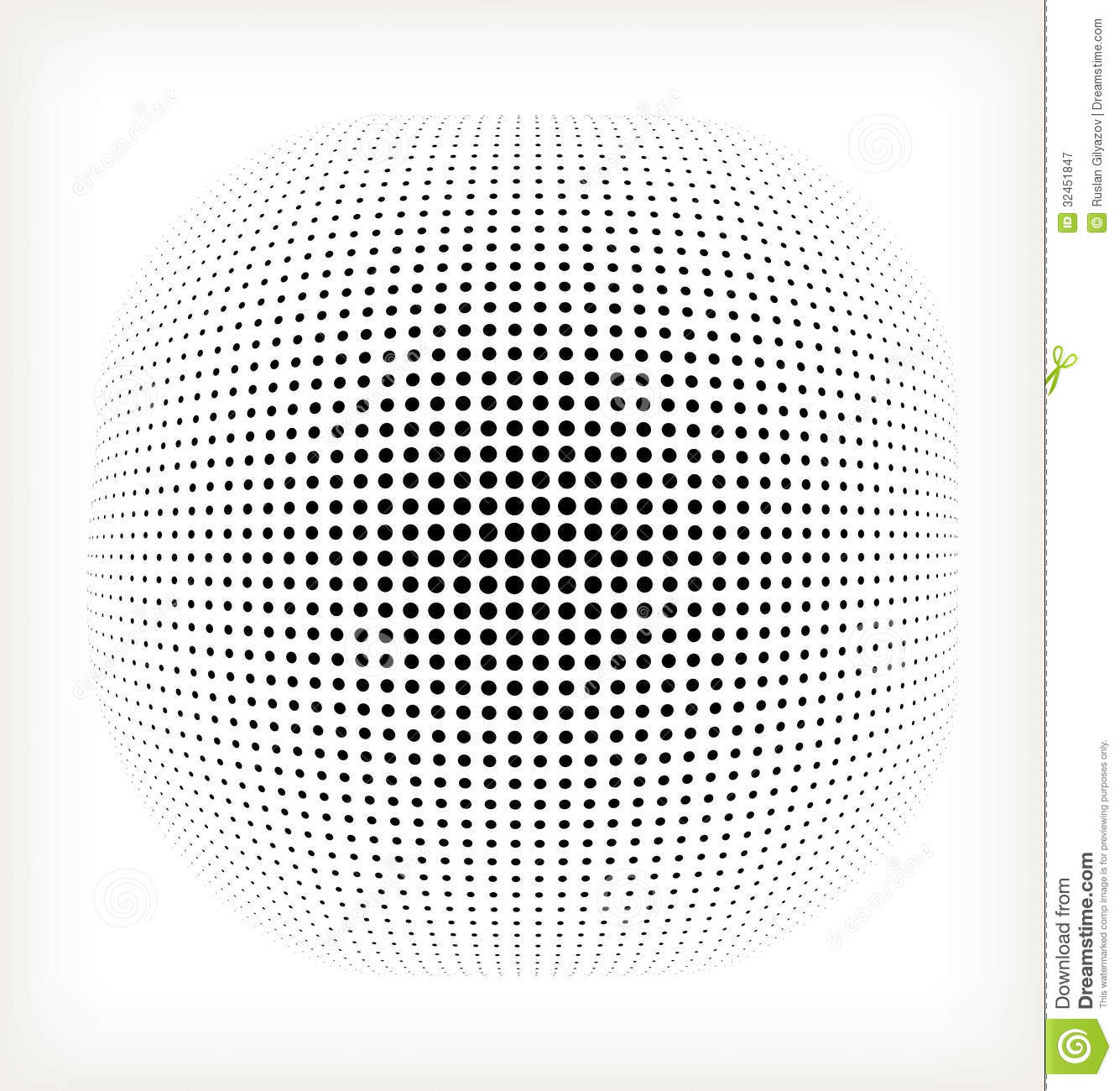 Black And White Geometric Wallpaper Vector Halftone Circle Stock Vector Image Of Illustration