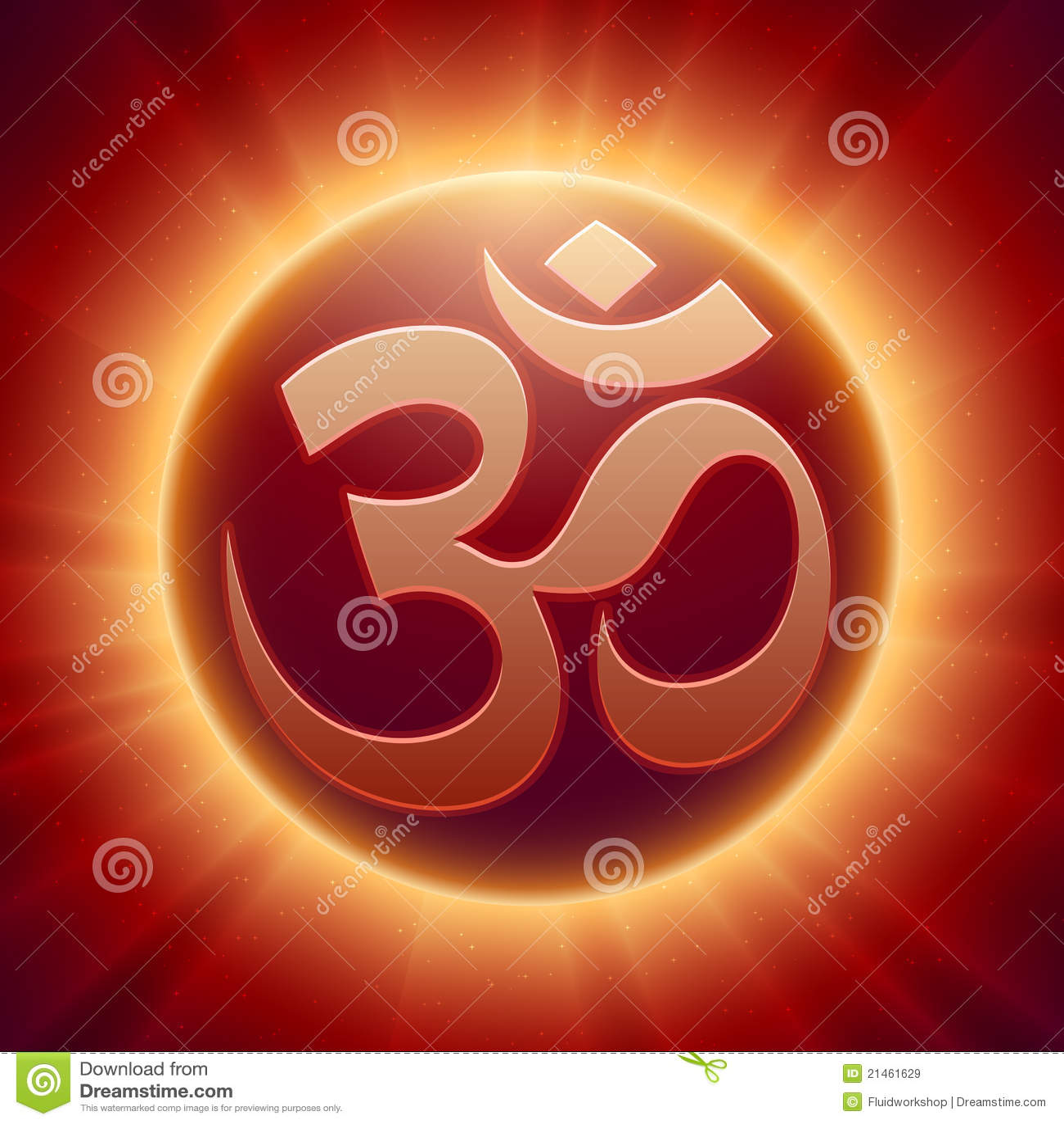 Mahadev Animated Wallpaper Vector Hindu Om Symbol Stock Vector Image Of Karma Clean