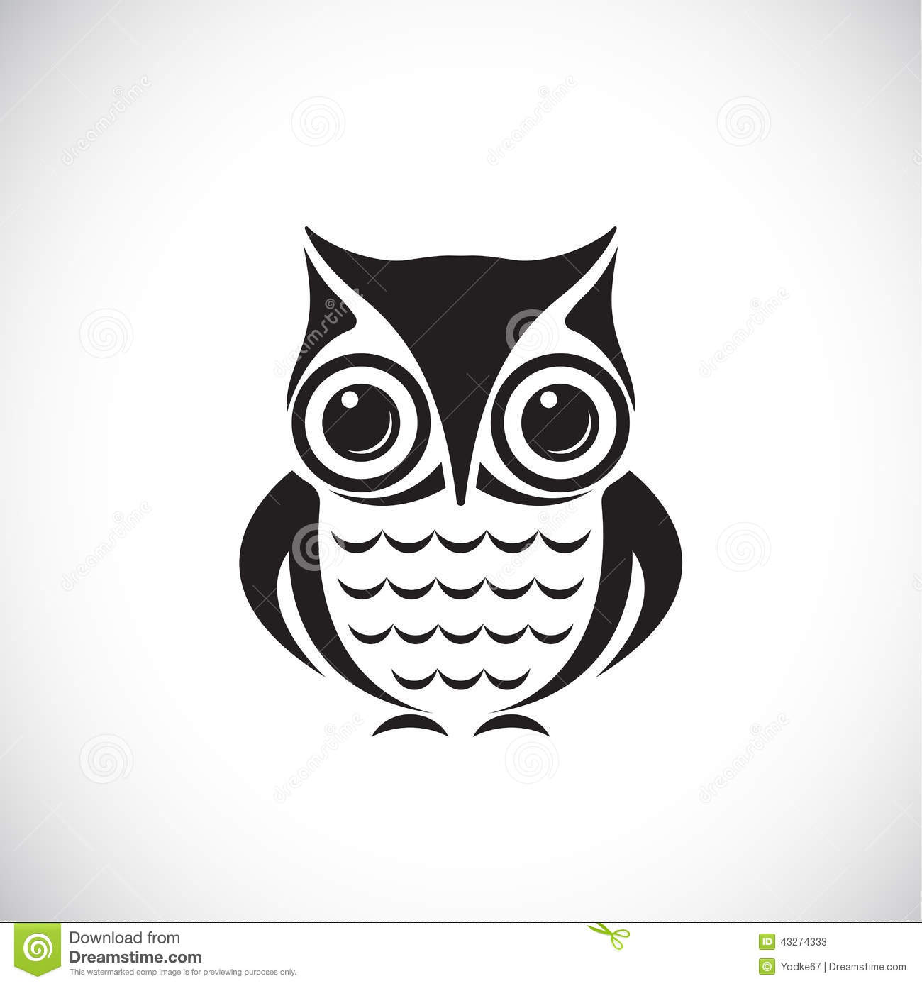 Tribal Cute Wallpaper Vector Images Of Owl Stock Vector Image 43274333