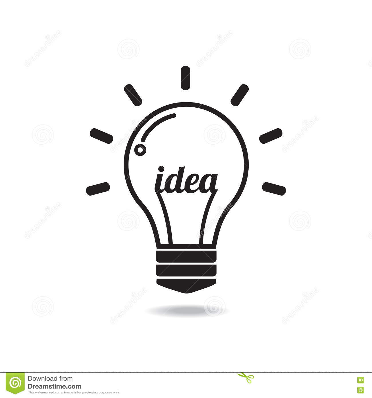 Light Bulbs Online Free Vector Idea Light Bulb Decoratingspecial