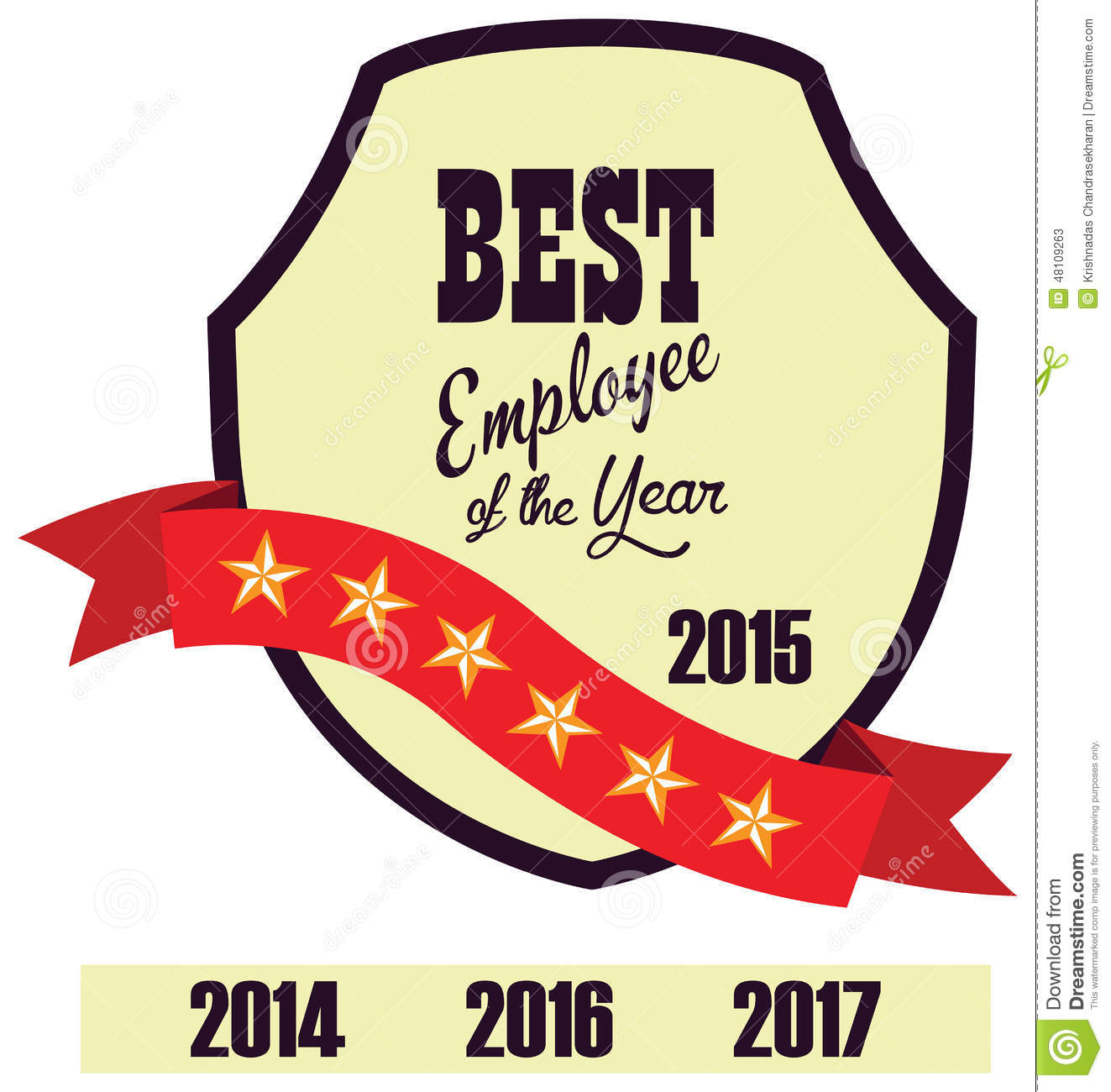 best employee of the year certificate