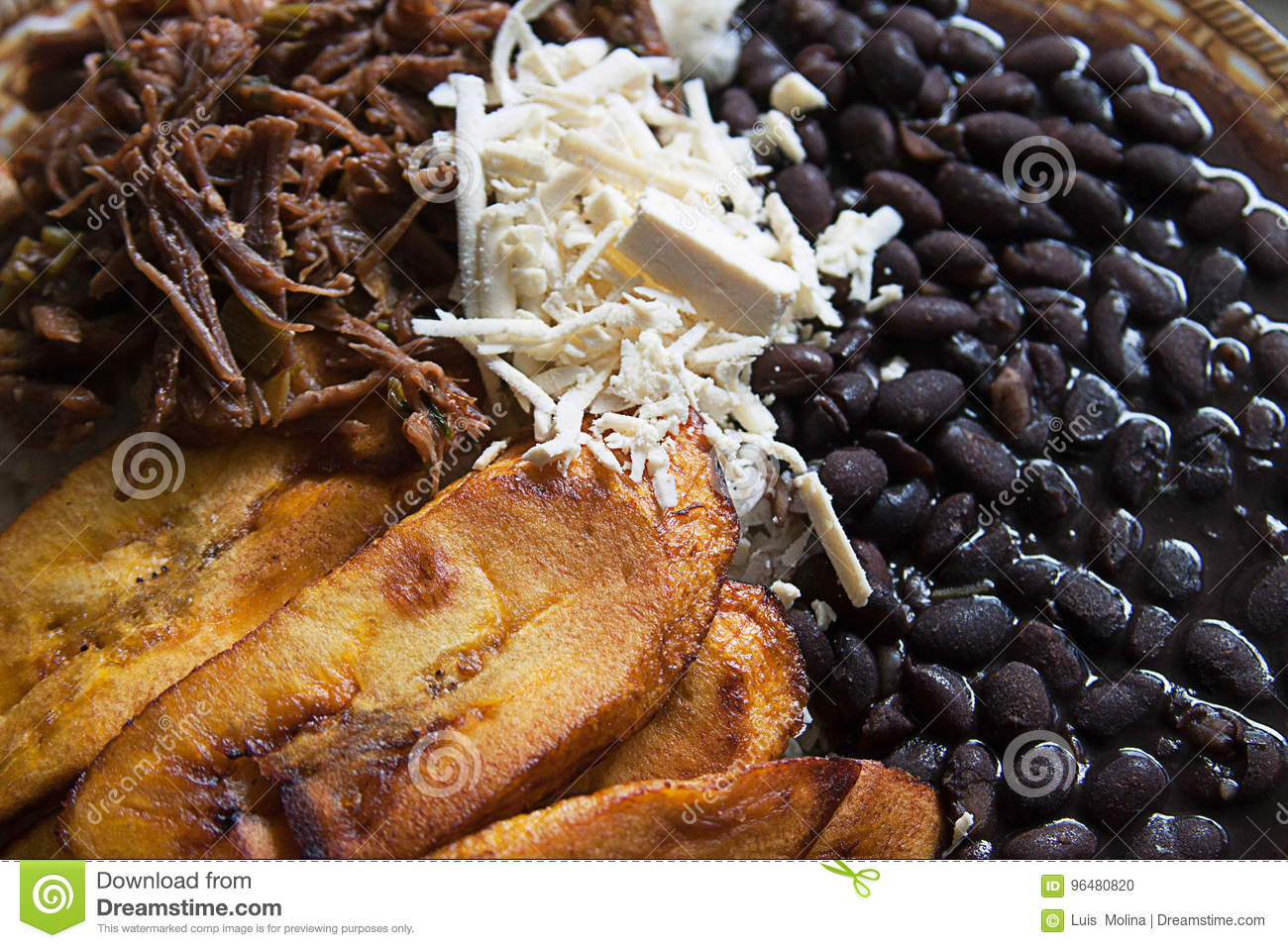 Cuisiner Le Plantain Venezuelan Cuisine Venezuelan Traditional Food Stock Photo