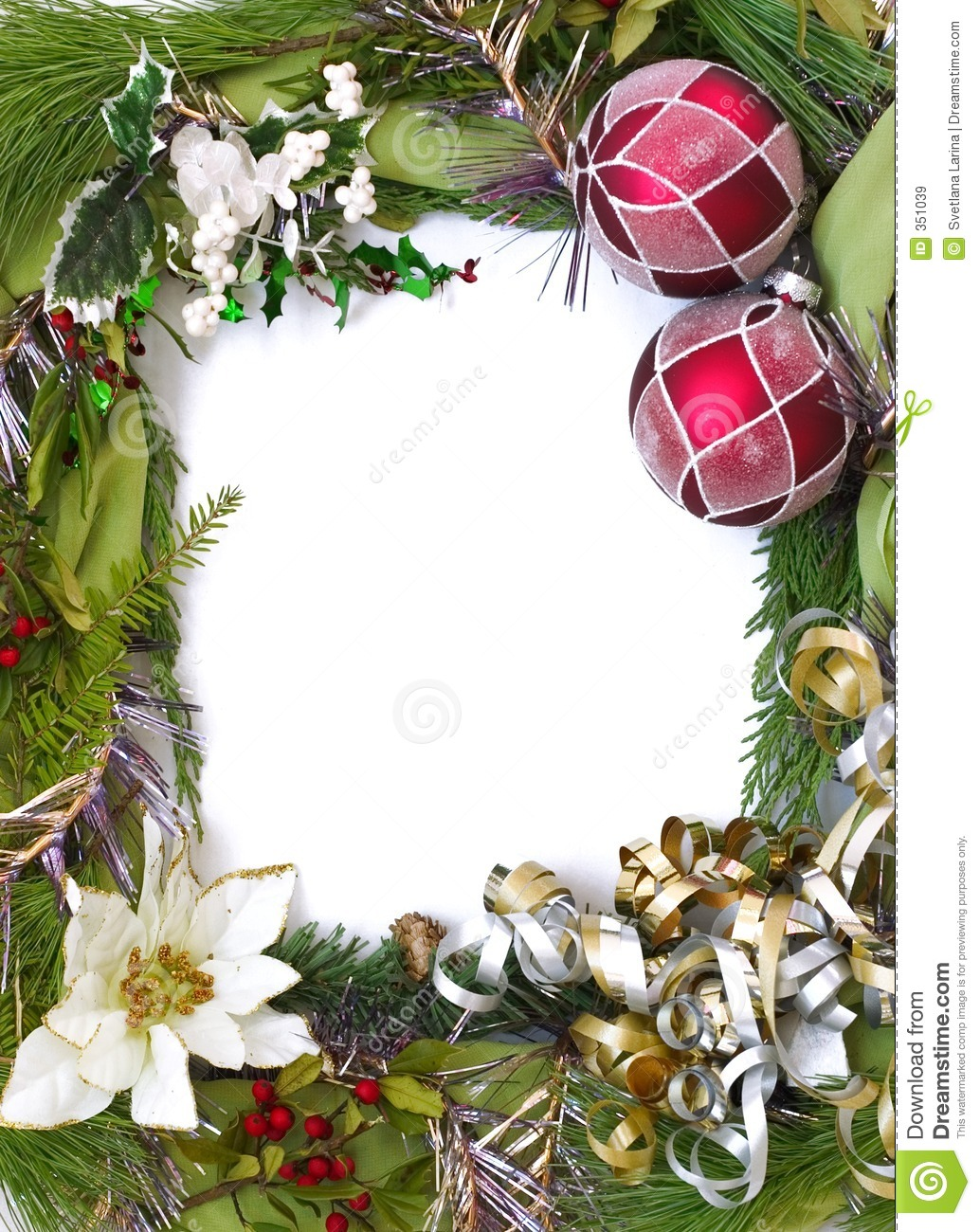 Cuadros Para Poner Fotos Gratis Vertical Empty Christmas Frame Royalty Free Stock Images
