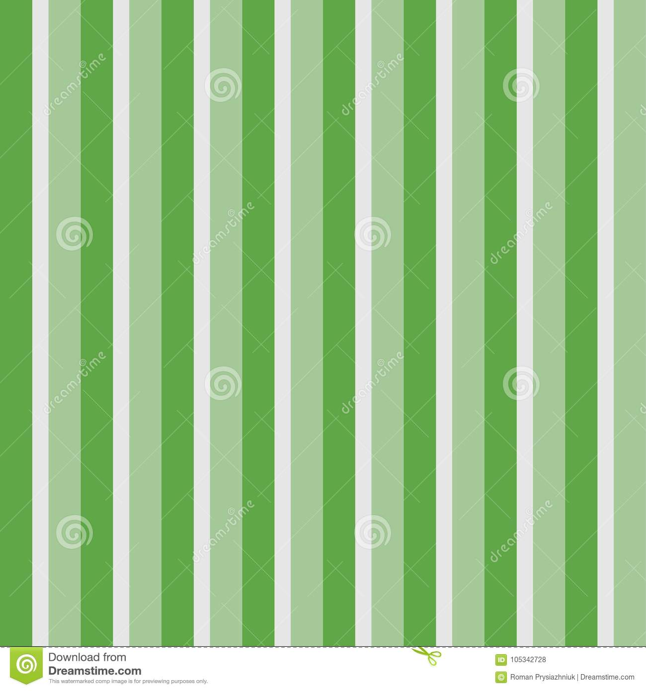 Papel Pintado Rayas Verticales Vertical Stripes Seamless Pattern. Green Striped Wallpaper