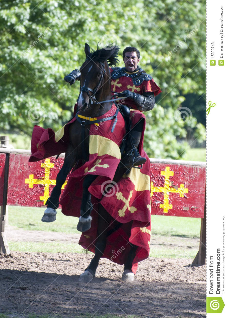 Dreamstime Images Victorious Knight On Horseback At Warwick Castle Editorial