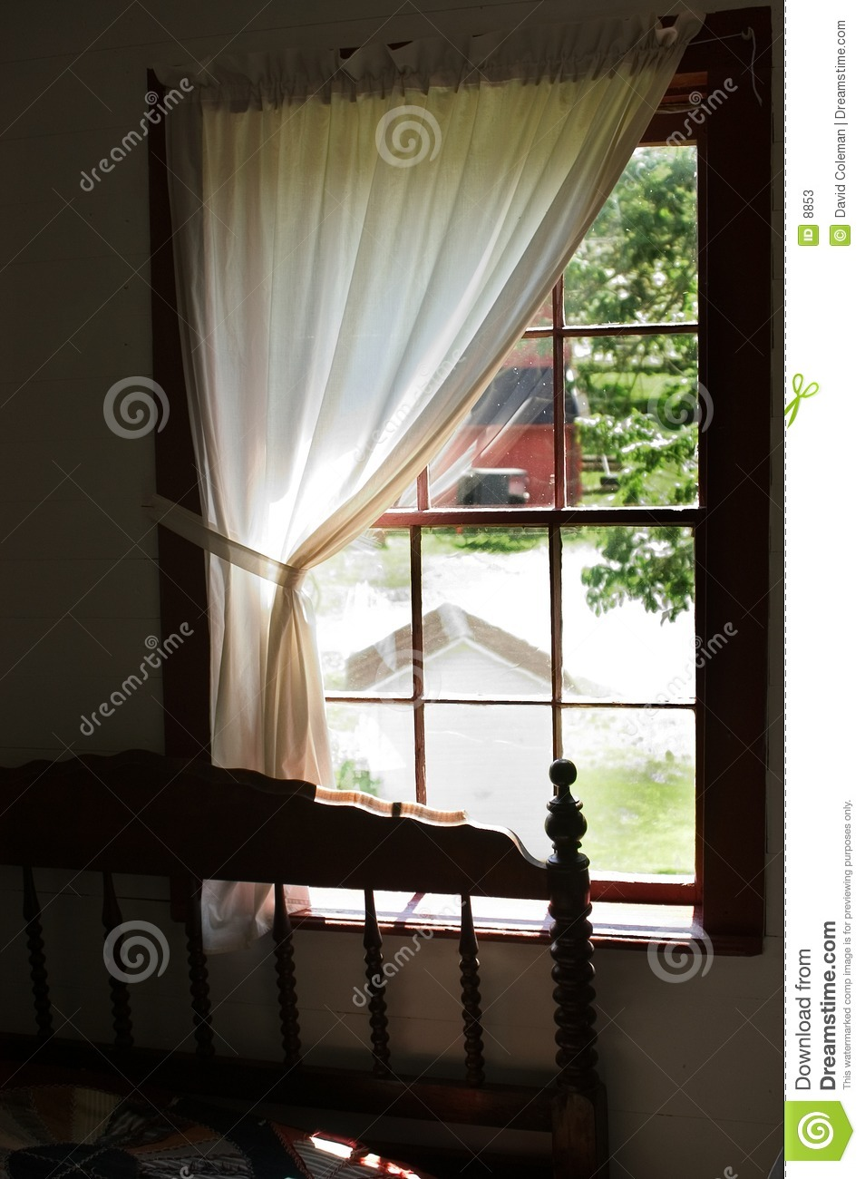 Stock Image Dreamstime View From An Amish Bedroom Window Stock Photos Image 8853