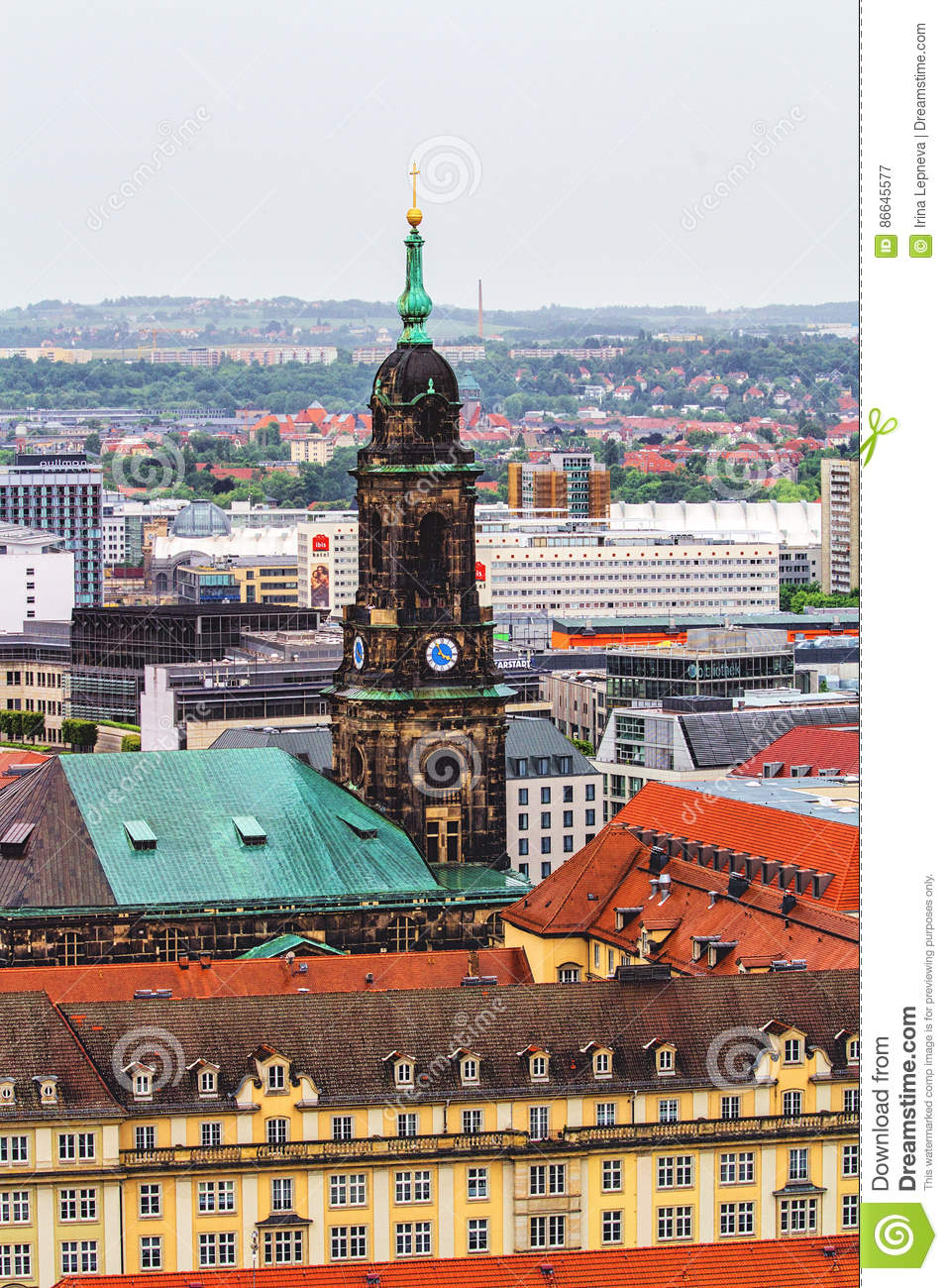 Bebe Dresden View Of Dresden In Rainy Day Editorial Photography Image Of
