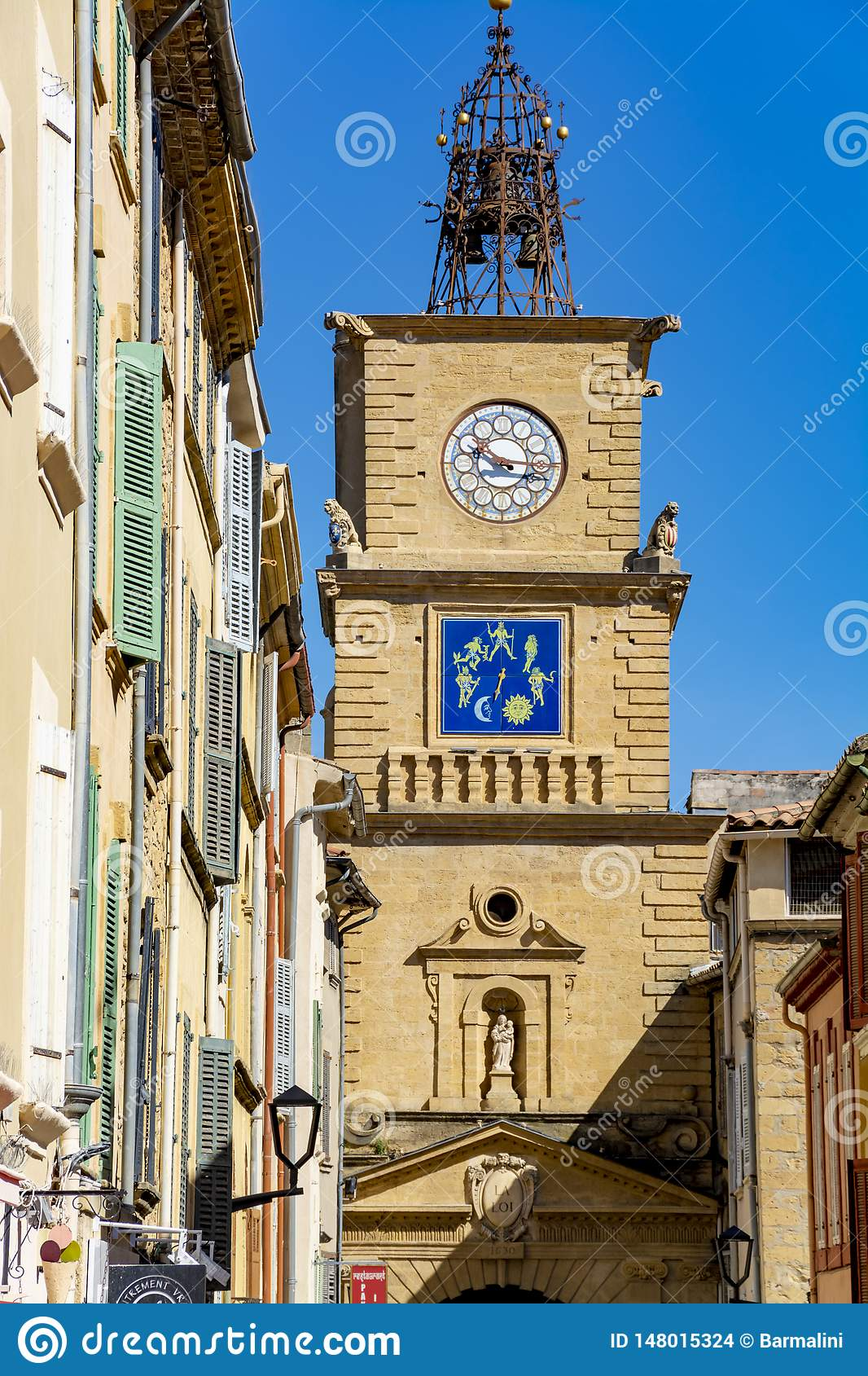 Medieval Provencal Town Salon En Provence South Of France Stock Photo Image Of Facade Medieval 148015324