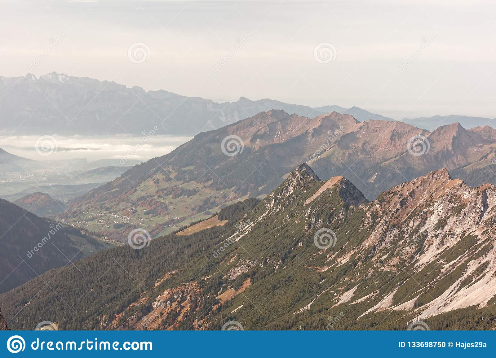 Rote Wand Views From Rote Wand Stock Photo Image Of Mountain 133698750