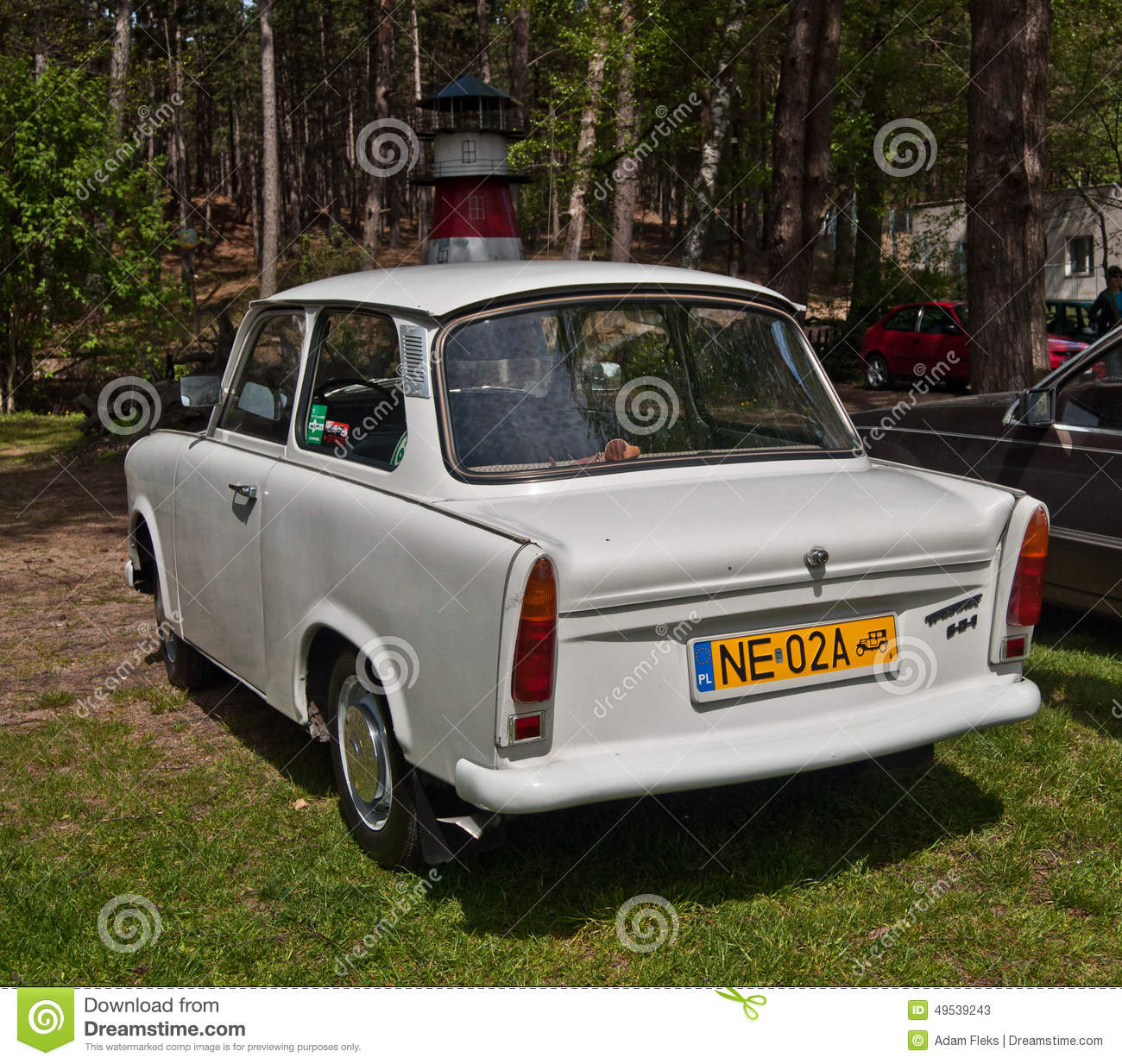 Trabant Clipart Vintage Car Trabant 501 Parked Editorial Stock Photo Image Of