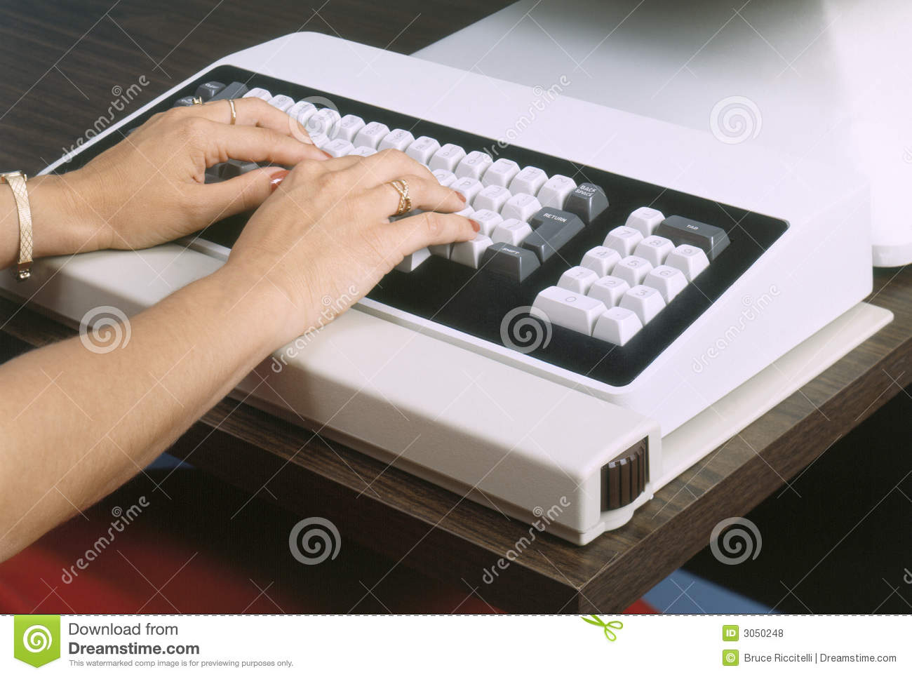 Vintage Computer Keyboards Vintage Computer Keyboard Royalty Free Stock Photos