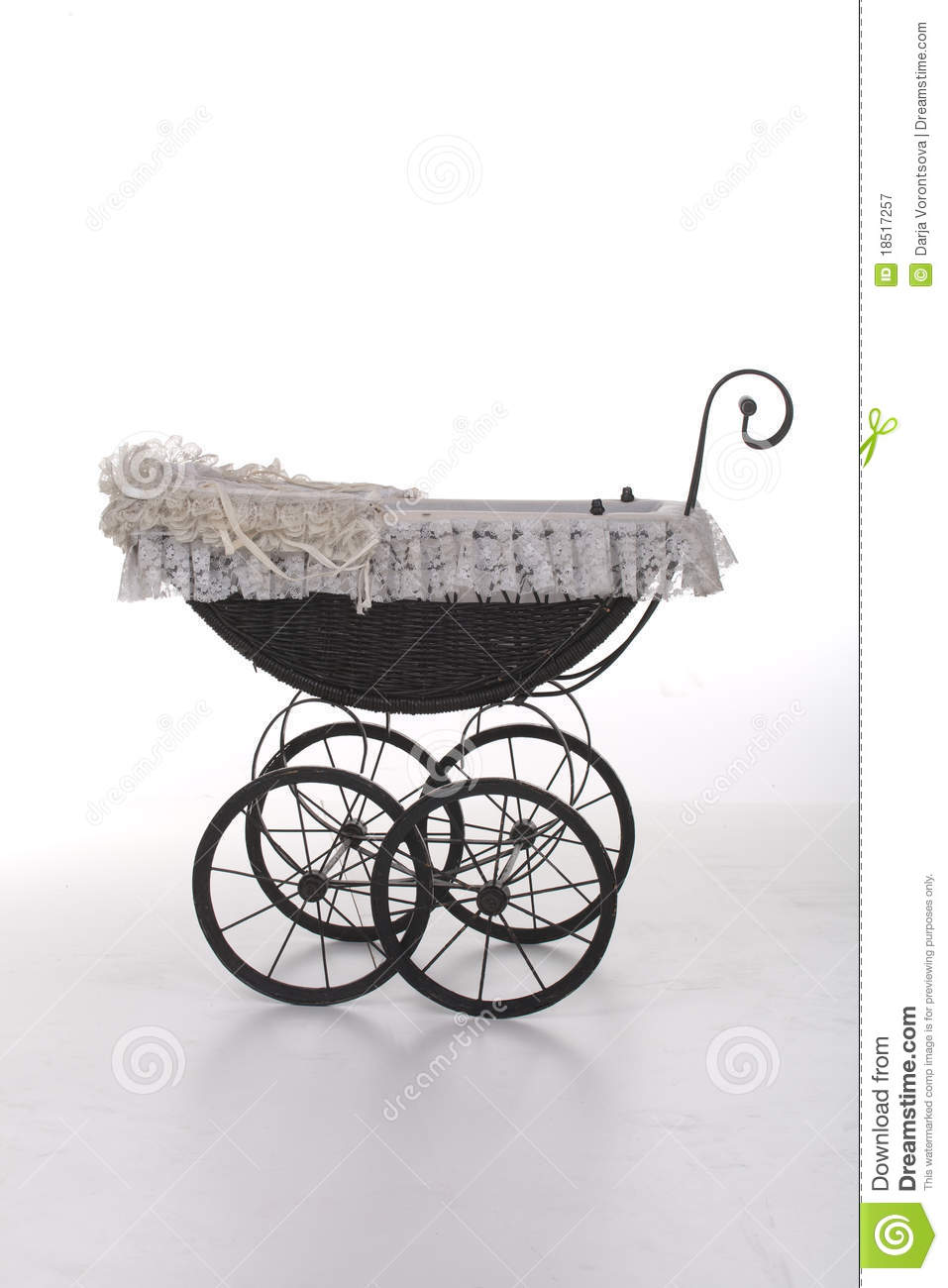 Vintage Toy Stroller Vintage Doll Stroller Stock Image Image Of Pram Pushchair
