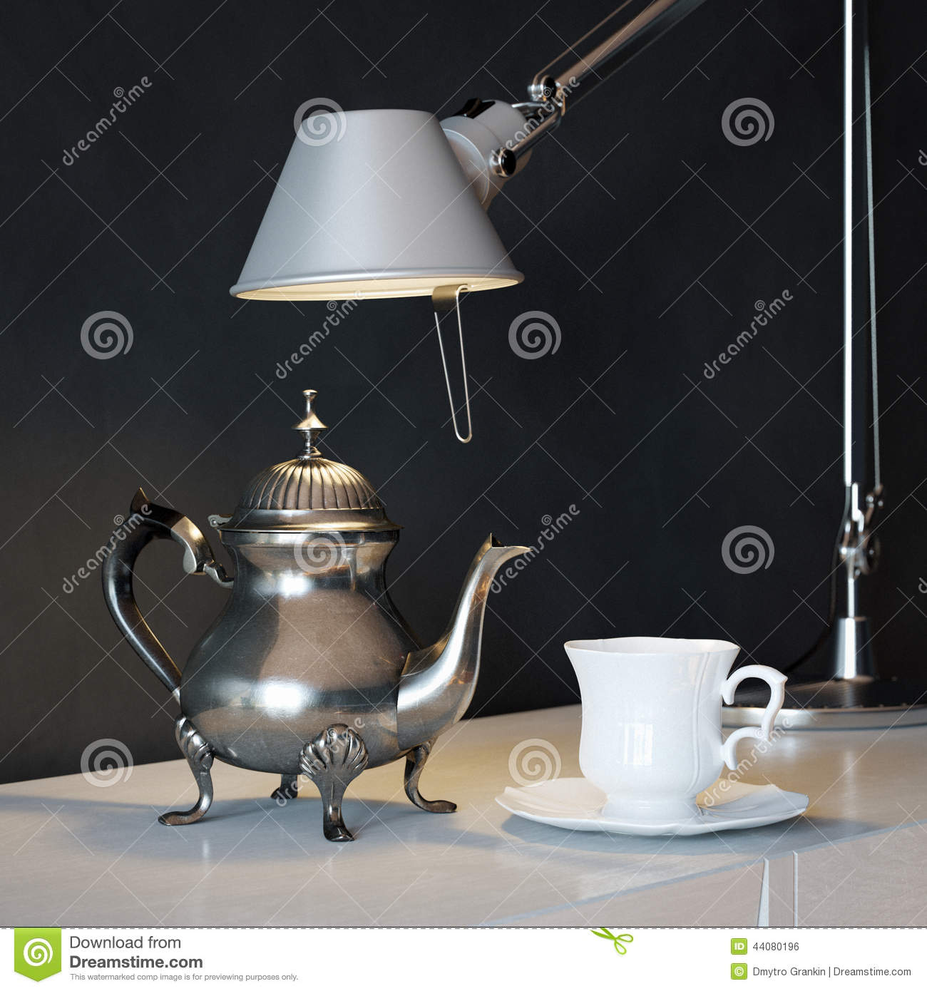 Spilled Paint Lamp Oil Lamp Coffee Stain Stock Photography Cartoondealer