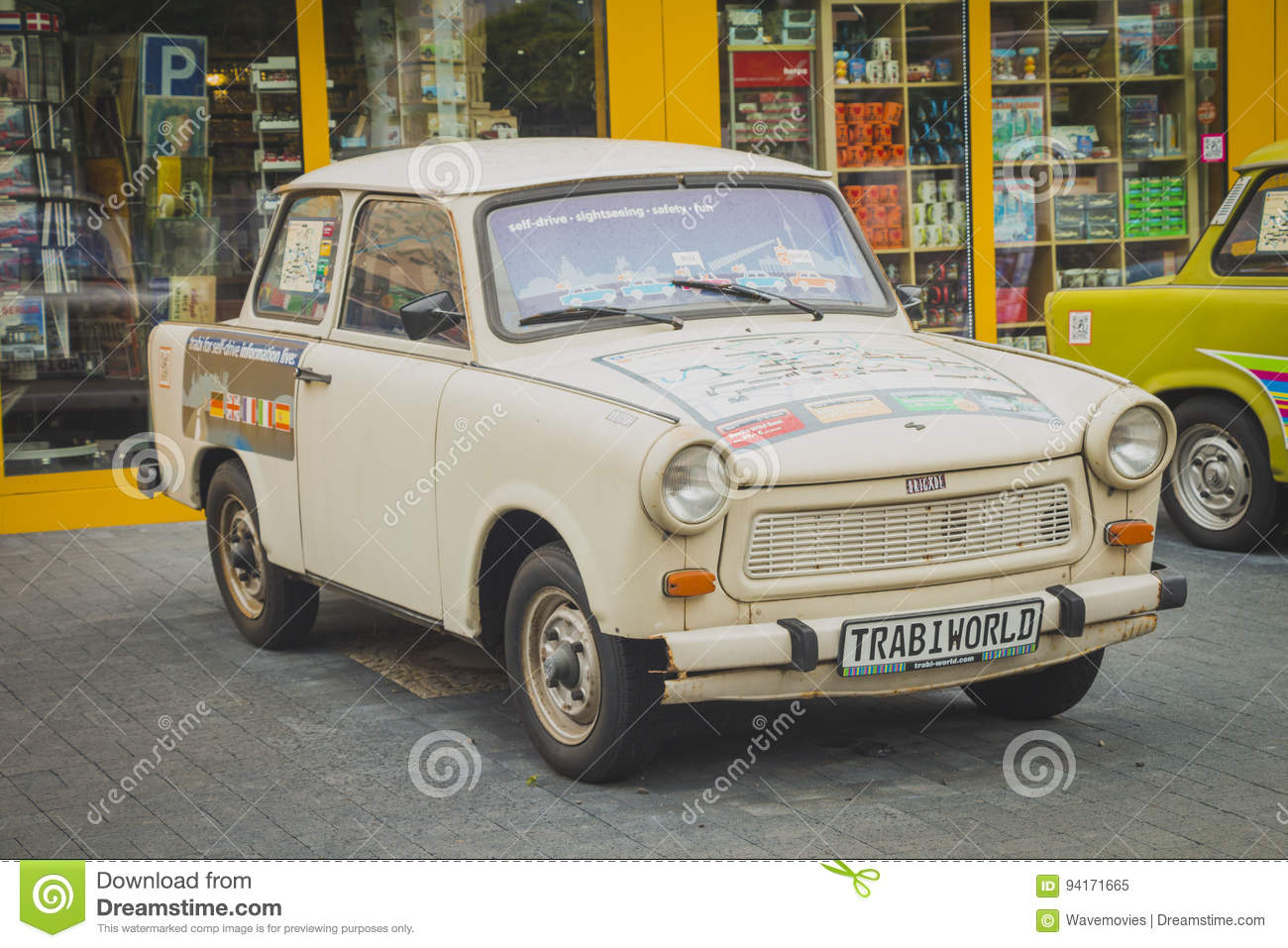 Trabant Clipart Vintage Trabant Cars At Trabi Musem Editorial Image Image Of
