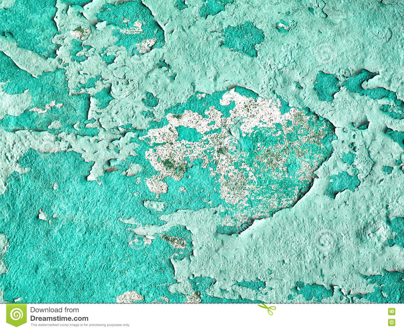 Turquoise Brick Wallpaper Vintage Turquoise Concrete Crack Wall Texture Background