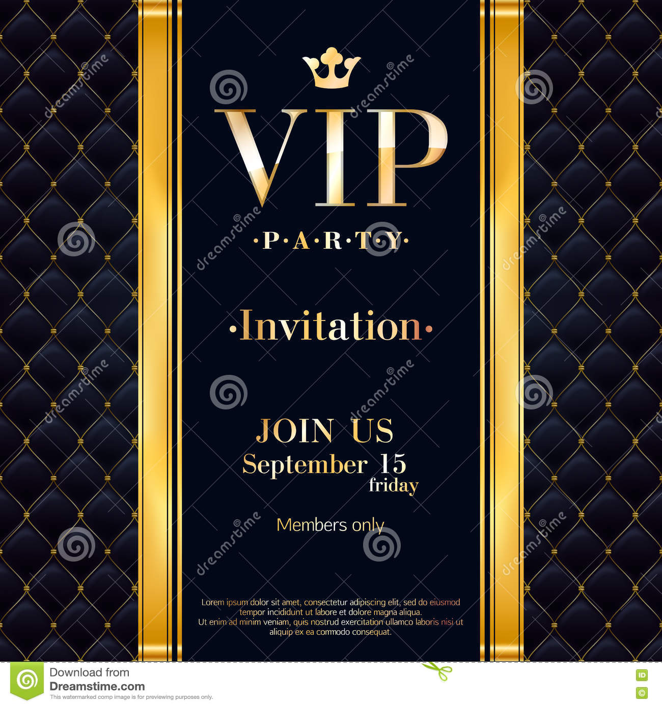 party invitation letter template