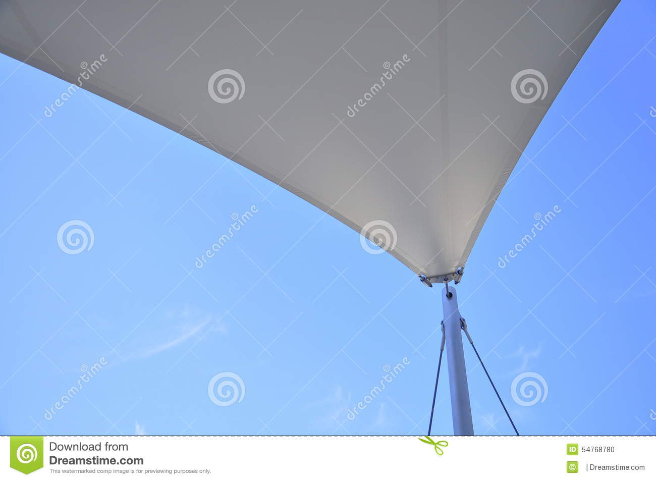 Voile Ombre Voile D 39ombre Photo Stock Image 54768780