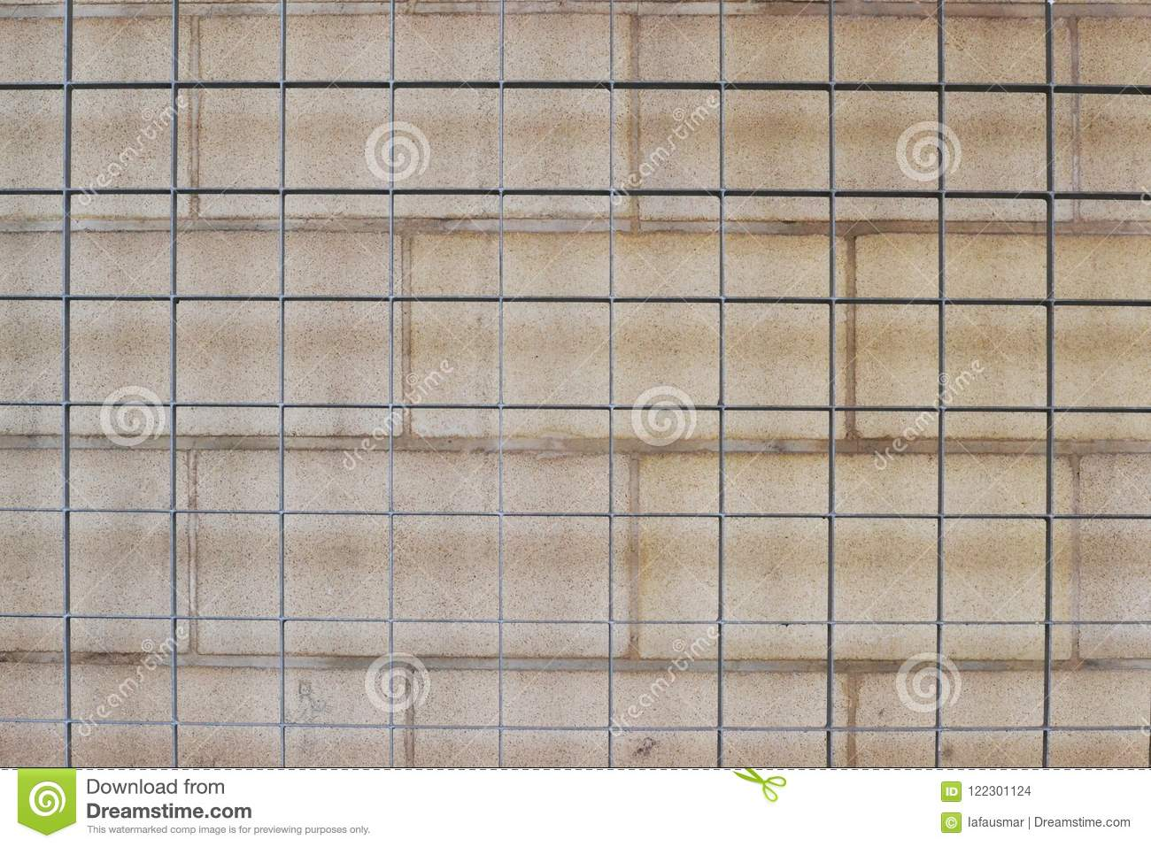 Wall Grid Wall Grid Texture Stock Photo Image Of Metallic Fence 122301124