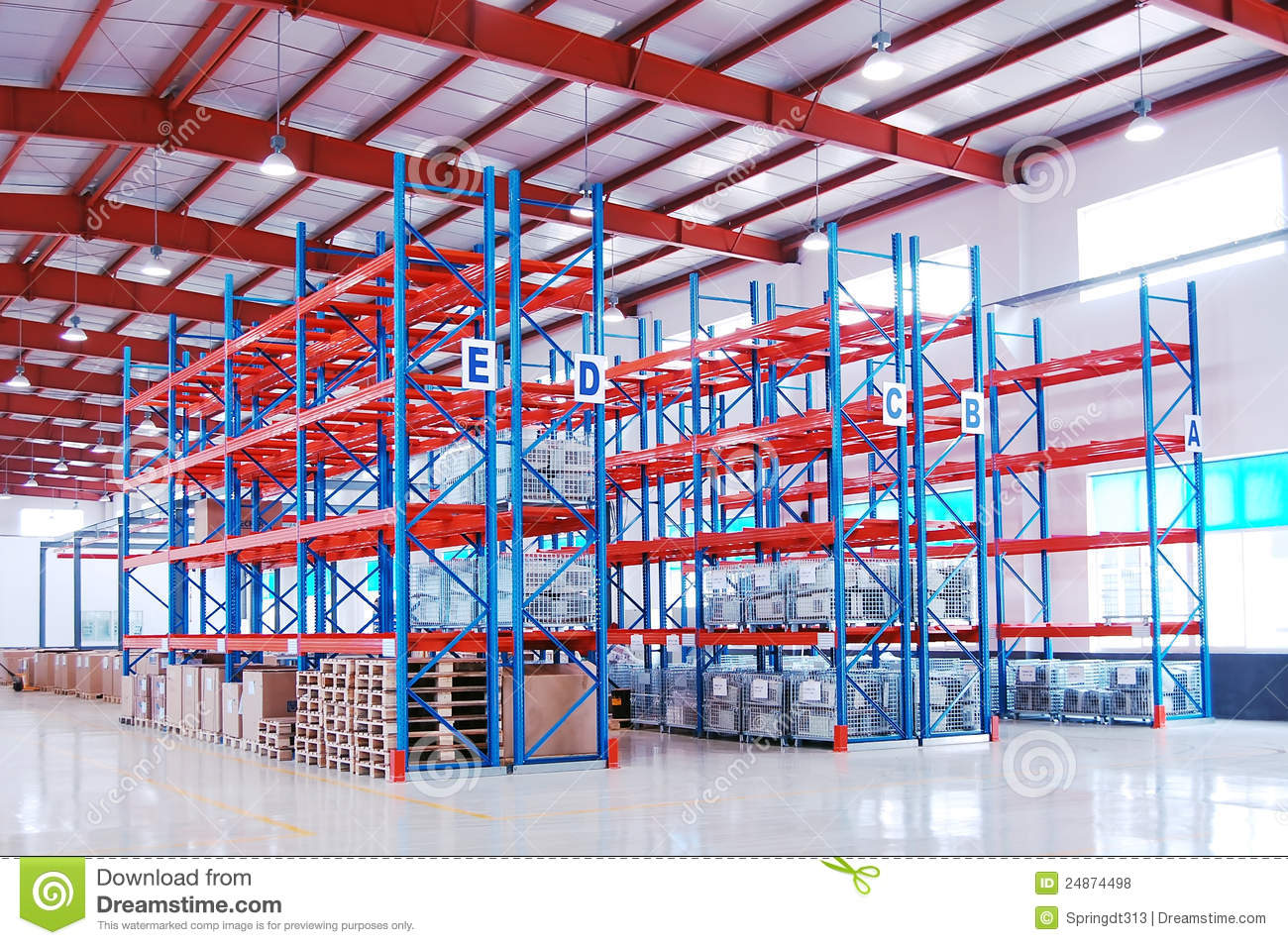 Lagerregal Clipart Warehouse Shelf Royalty Free Stock Photos Image 24874498