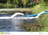 Waste Water Flow From Water Pipe Stock Photo - Image: 41024610
