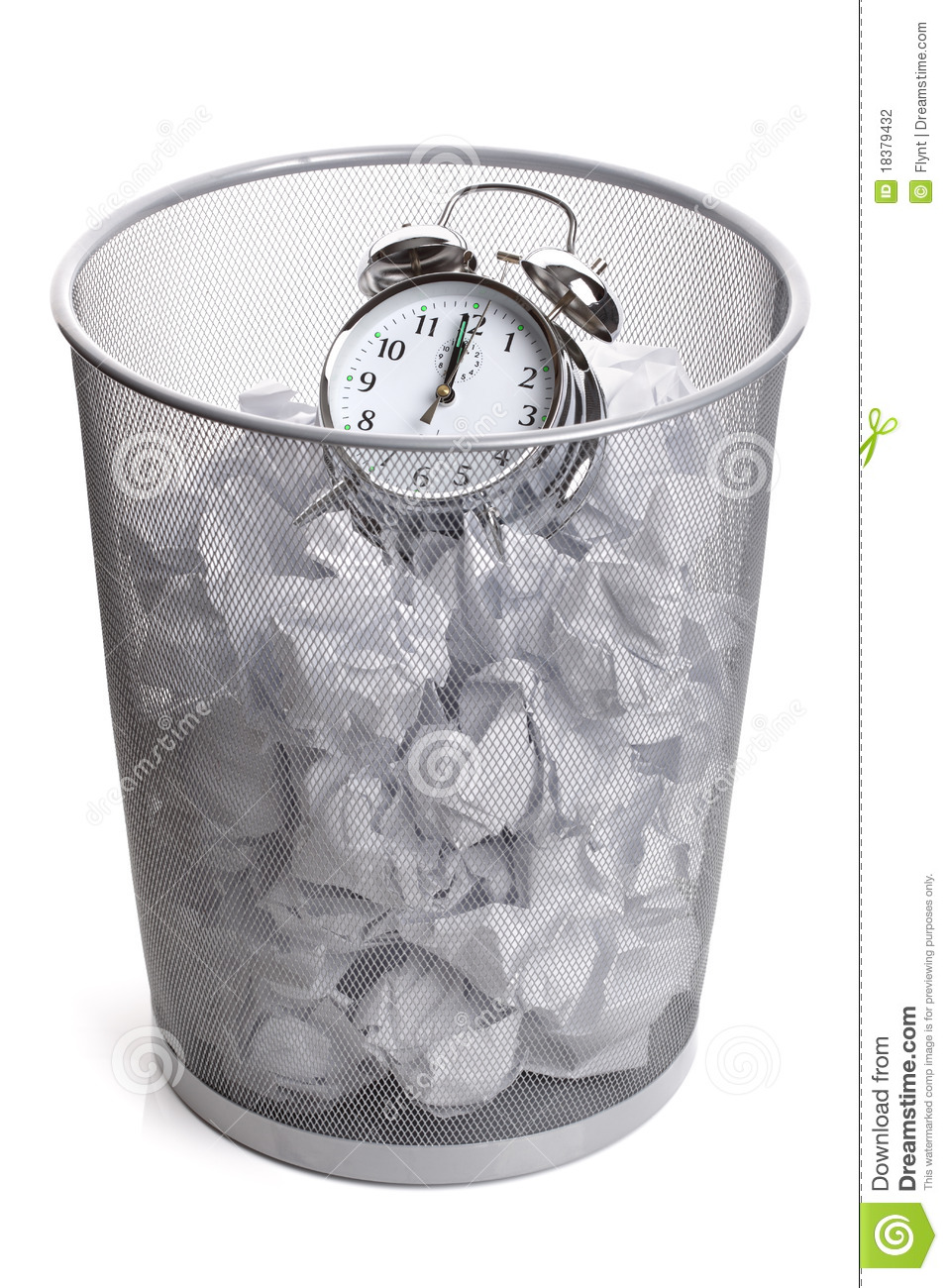 Images Stock Rubbish Wasting Time Stock Photo Image Of Reminder Time Shot