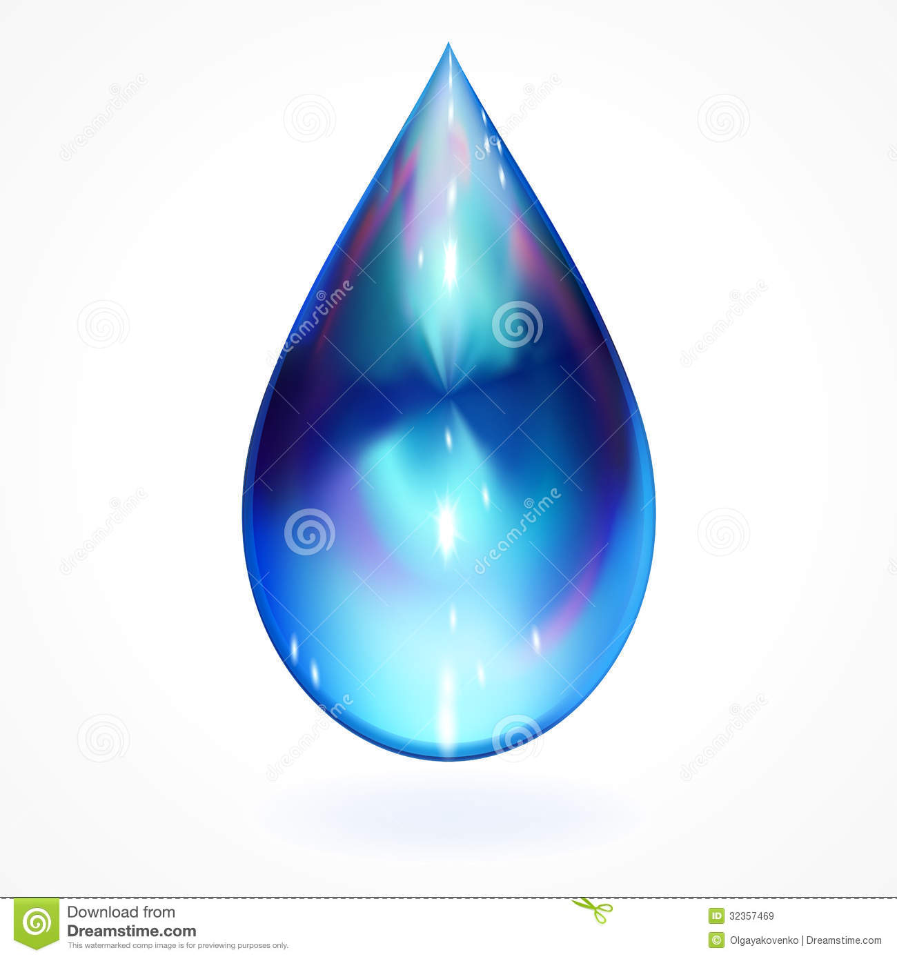 Drop Design Water Drop Design Element Royalty Free Stock Images