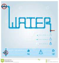 Water Pipe Business Infographic Stock Vector ...