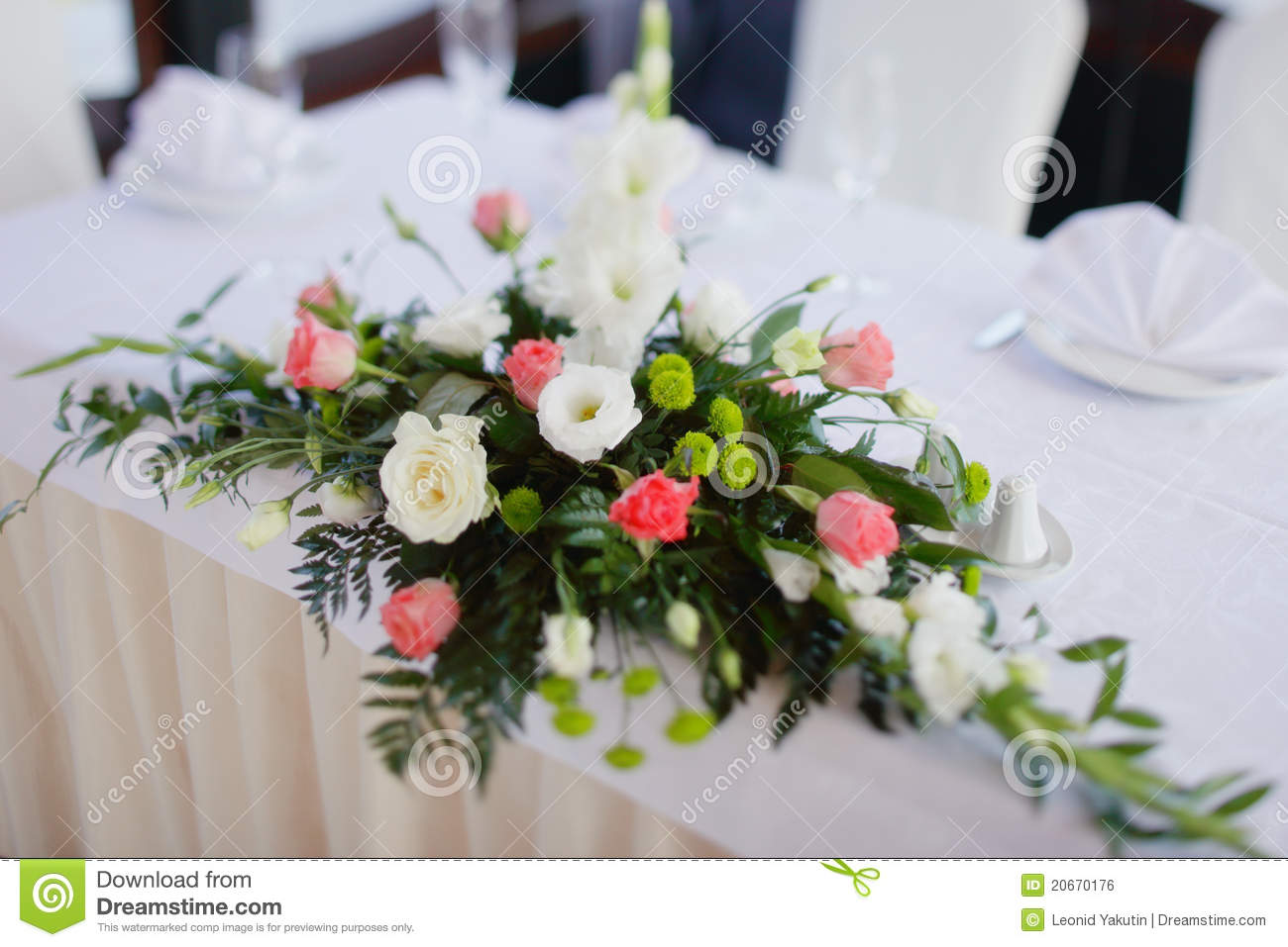 Aliexpress Decoration Mariage Wedding Bouquet On A Table Stock Photo Image Of
