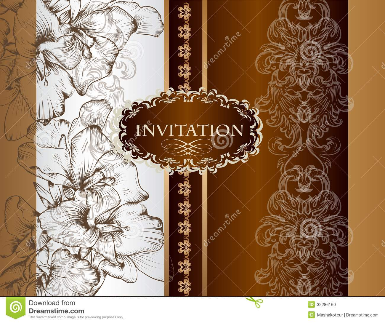 blue wedding invitations royal wedding invitation Blue Wedding Invitations Brilliant Blooms Invitation