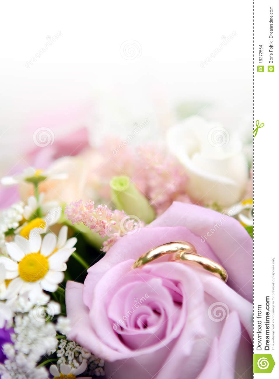 stock images wedding rings flowers image flower wedding ring Wedding Rings with flowers