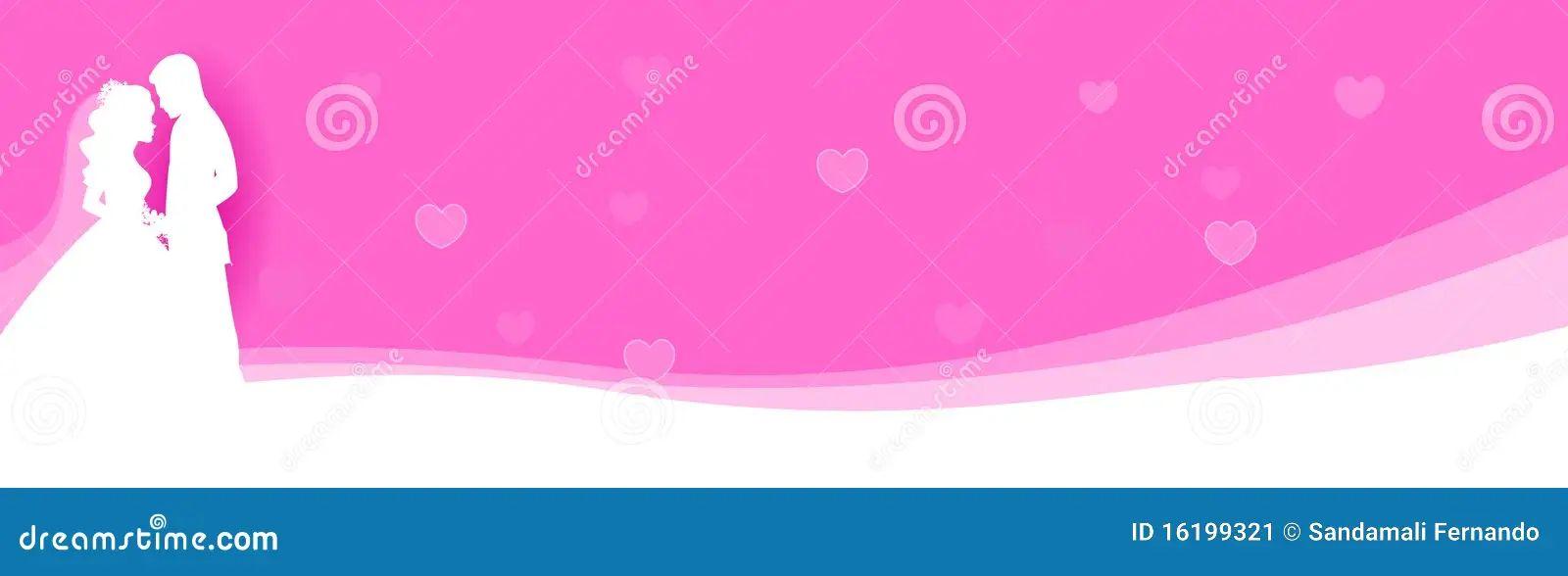 banner design for wedding