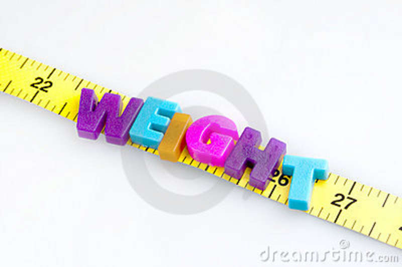 Weight word on cm ruler stock photo Image of instrument - 22556176