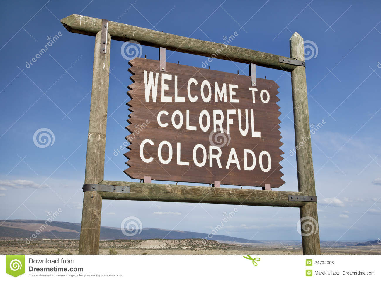 Car Wallpaper Clipart Welcome To Colorado Roadside Sign Royalty Free Stock Image