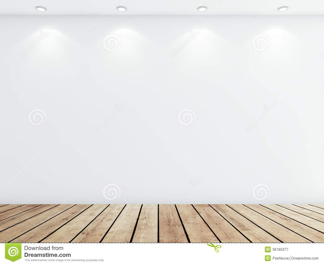 3d Brick Wallpaper For Walls White Concrete Room Royalty Free Stock Photography Image