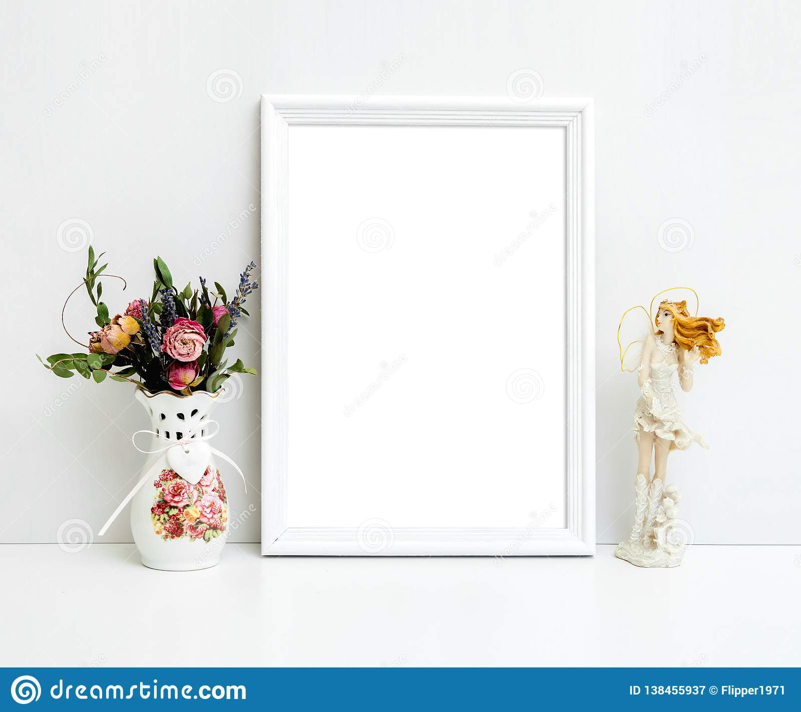 A2 White Frame A4 A3 A2 White Frame Mockup Stock Image Image Of Template Frame
