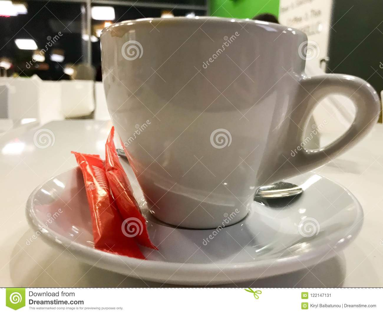 Mug A Cafe A White Glass Ceramic Cup A Mug Of Tea Coffee A Hot Drink