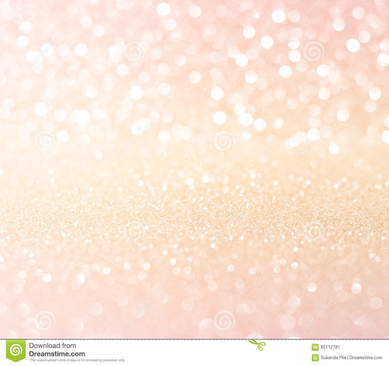 Cute Girly Life Wallpaper White Pink Gold Glitter Bokeh Texture Christmas Abstract