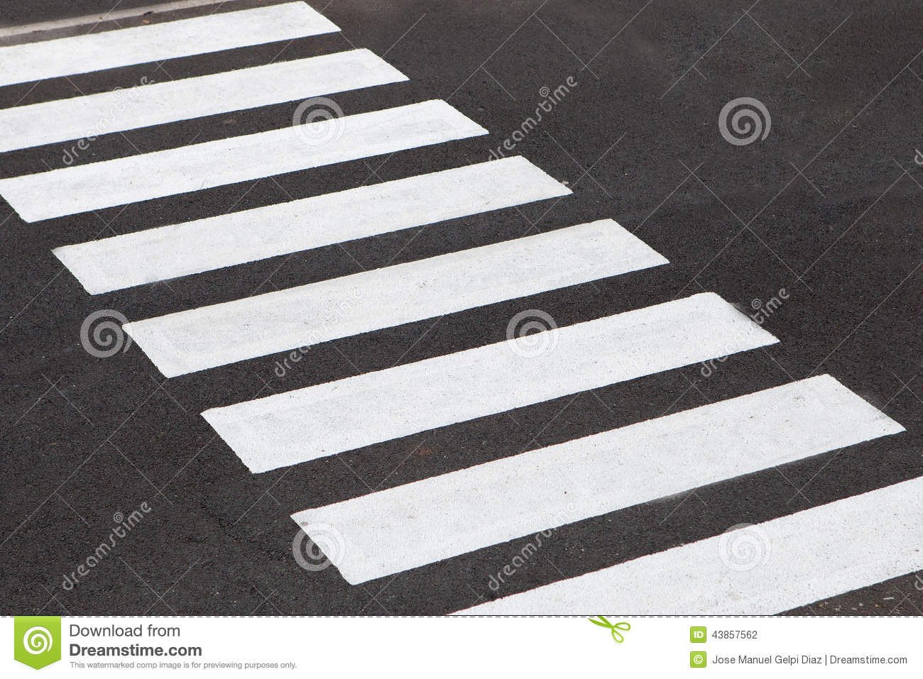 Road Crossing Clipart Black And White White Stripes Of A Zebra Crossing Stock Photo Image