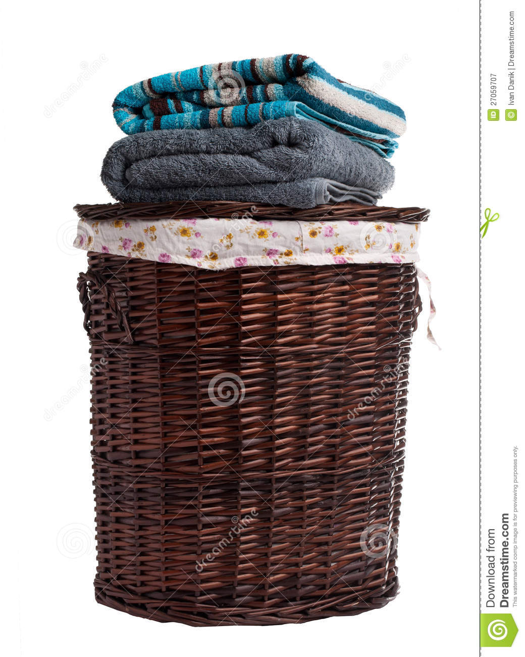 Animal Wicker Hamper Wicker Hamper Royalty Free Stock Photography Image 27059707