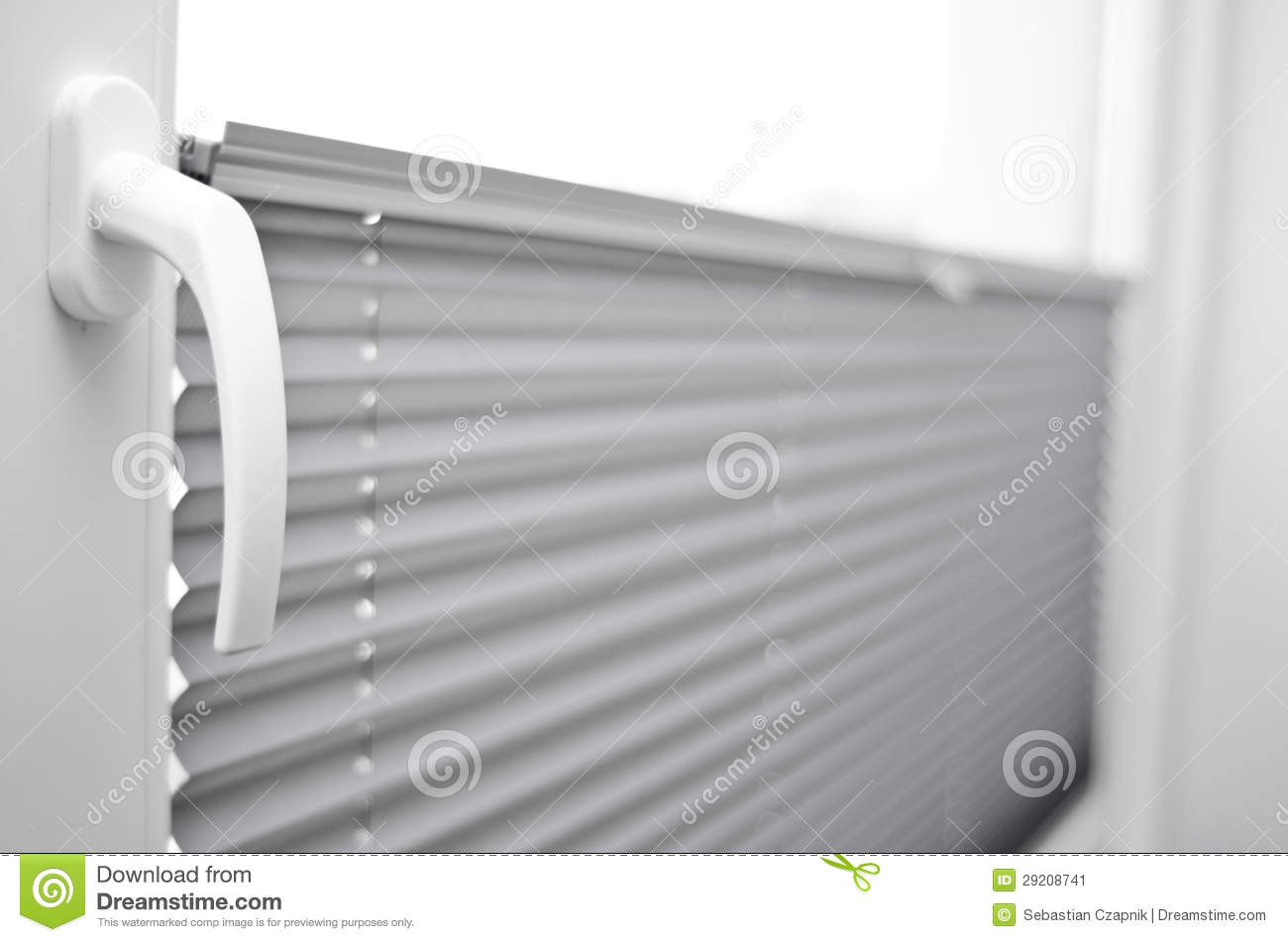 Gaubenfenster Window Blinds Stock Image Image Of Plastic Blind Daylight