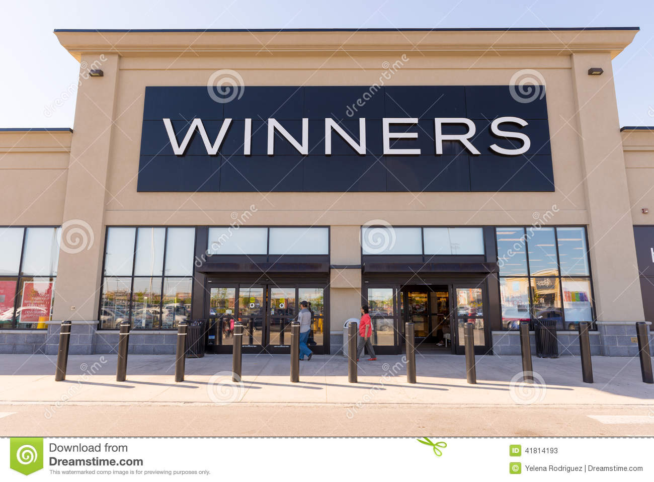 Canadian Stores Winners Front Of A Store Store Facade Editorial Stock
