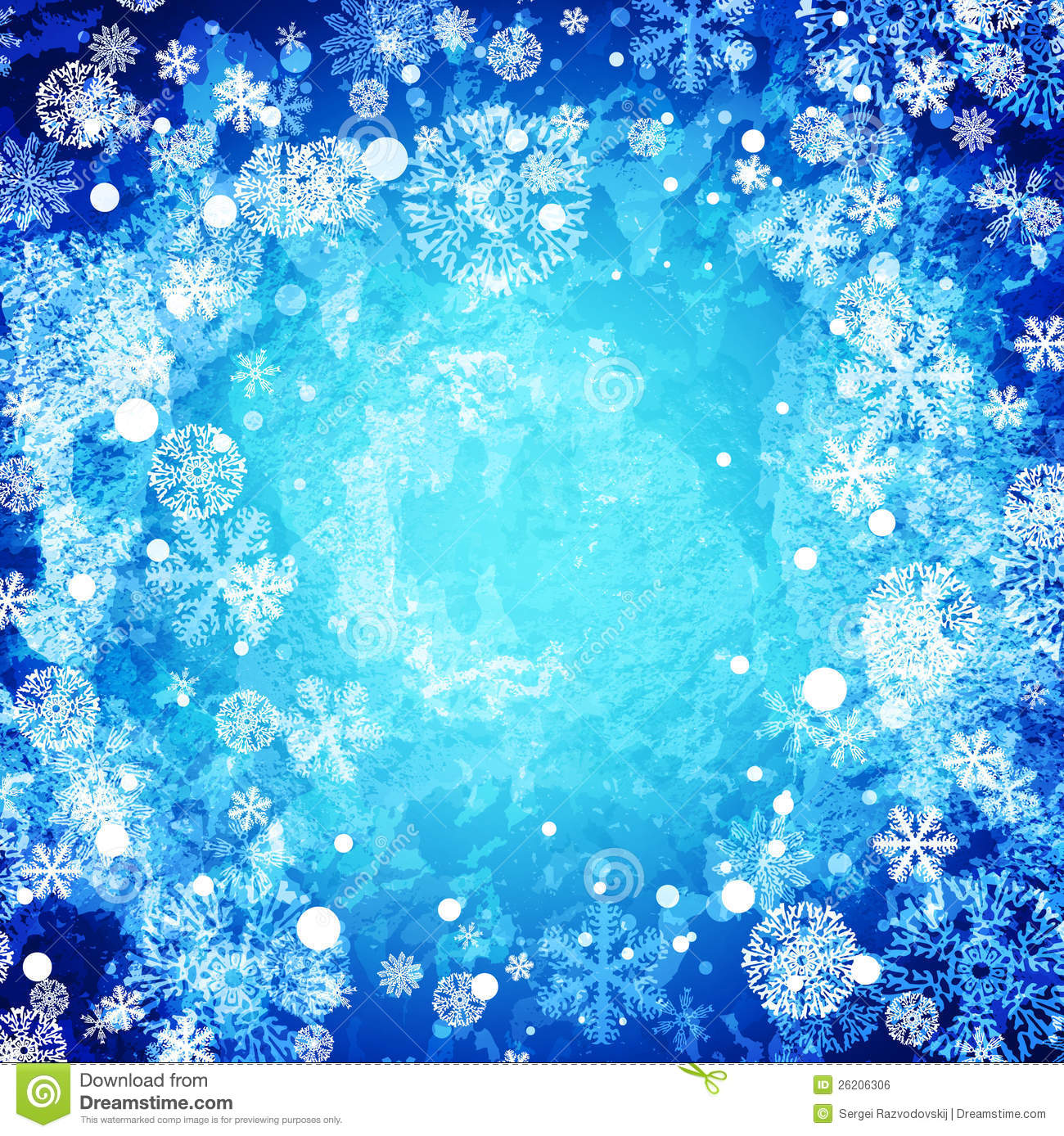 Free Falling Snow Wallpaper Download Winter Abstract Frozen Background Stock Vector Image