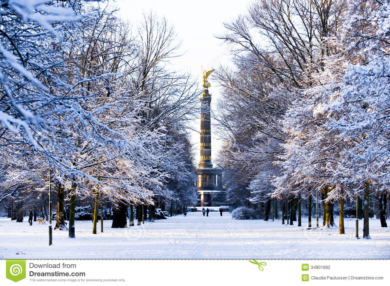 Night Sky 3d Wallpaper Winter In Berlin Stock Photography Image 34801682