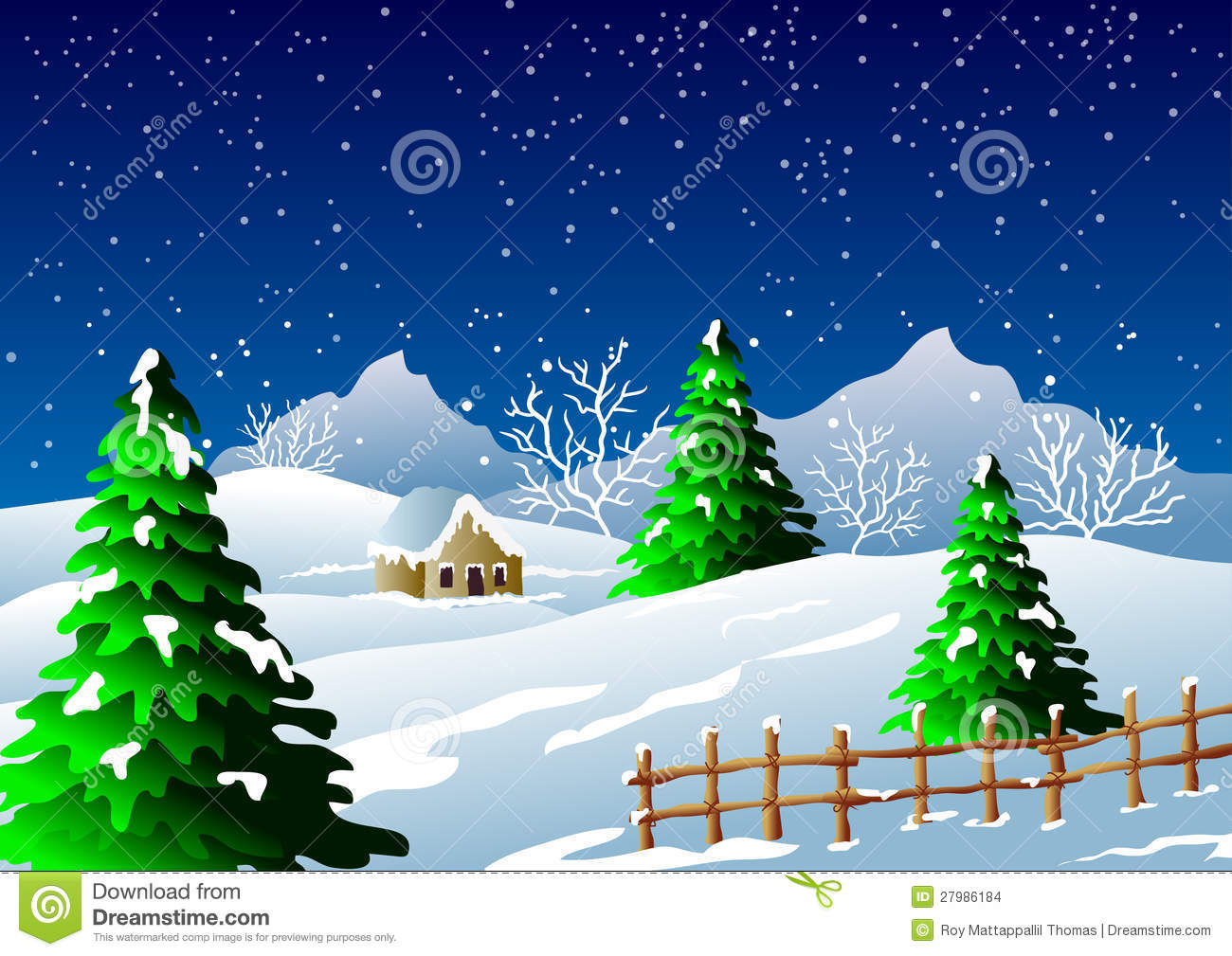 Fireplace 3d Wallpaper Winter Season Background Stock Images Image 27986184