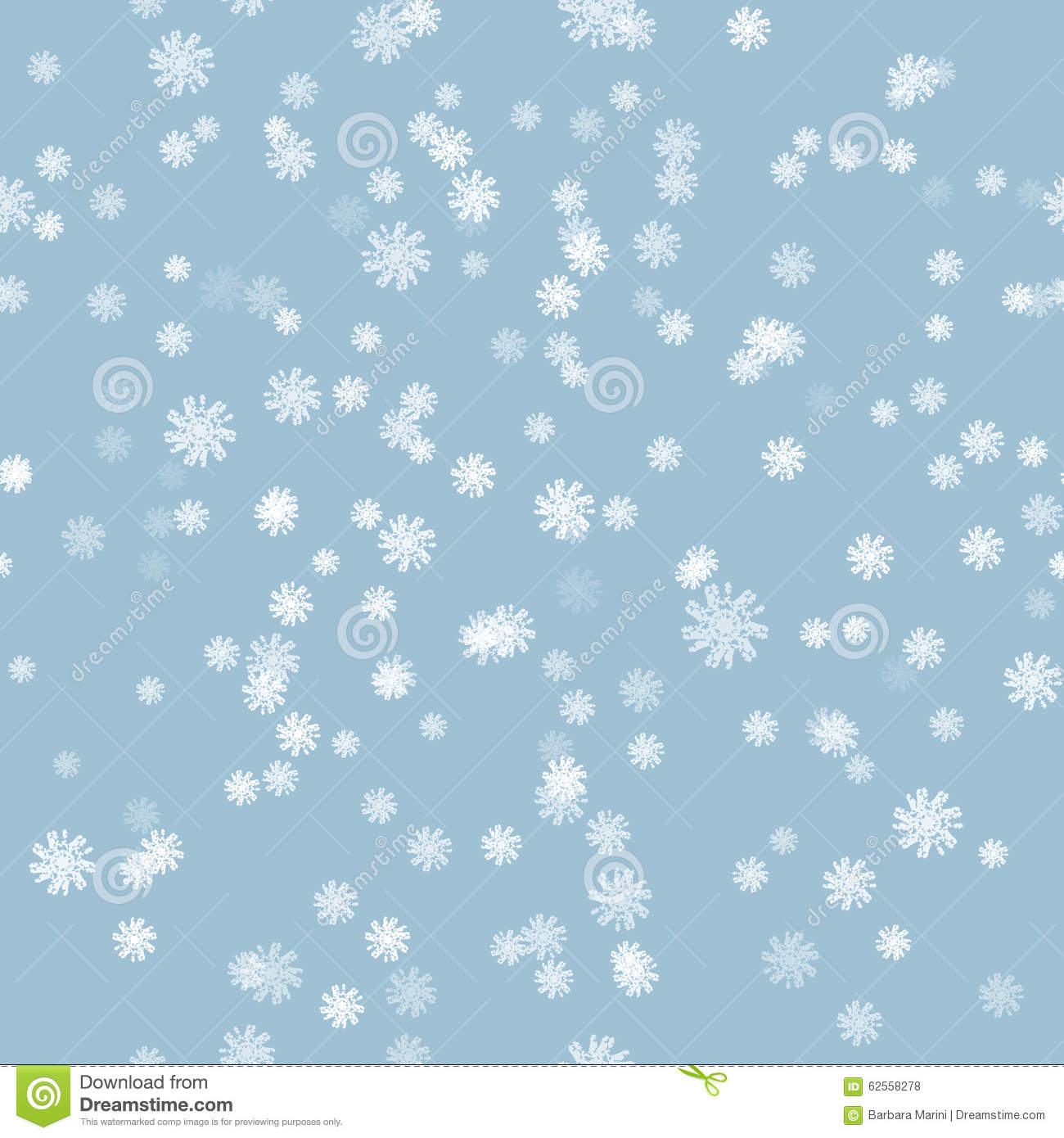 Free Falling Snow Wallpaper Winter Snow Brush Seamless Pattern Stock Vector Image