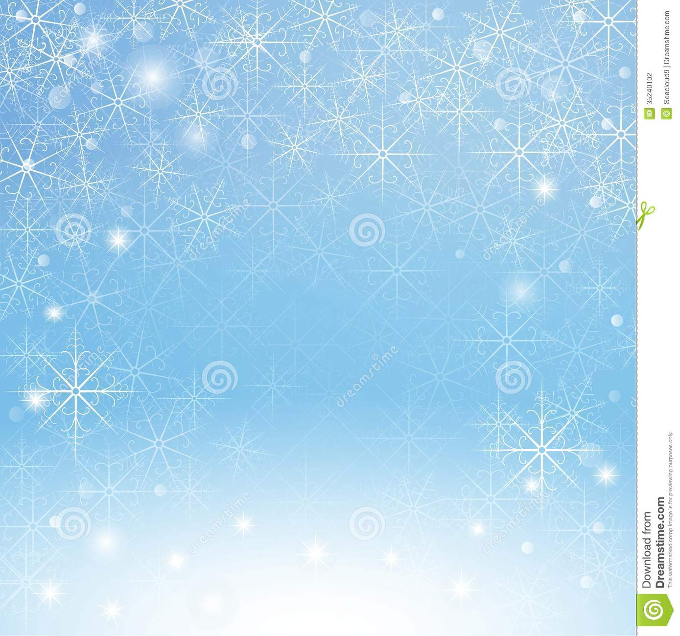 3d Snow Falling Wallpaper Winter Snowflakes Background Stock Photography Image