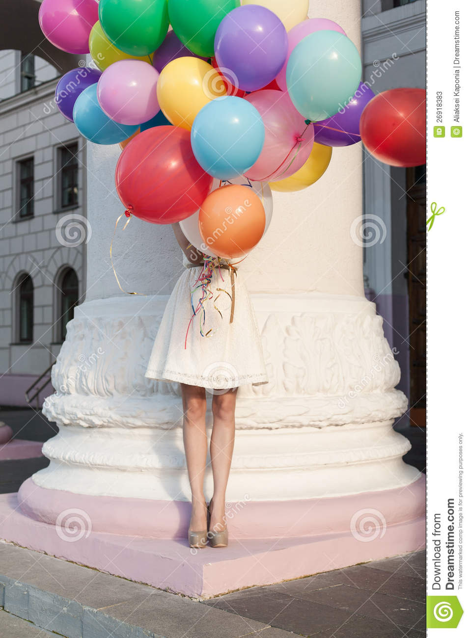 Cute Indian Girl Child Wallpaper Woman With Balloons Stock Image Image Of Cute People