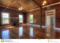 Wooden Interior Living Room Stock Images - Image: 19335354