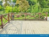 Wooden Deck Wood Backyard Outdoor Patio Garden Landscaping ...