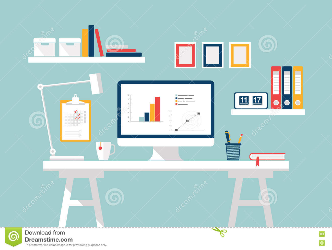 How To Be A Home Designer Workspace Home Office Interior Stylish Home Or Studio